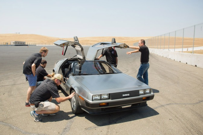 MARTY McDRIVE: Stanford's Self Drifting DeLorean